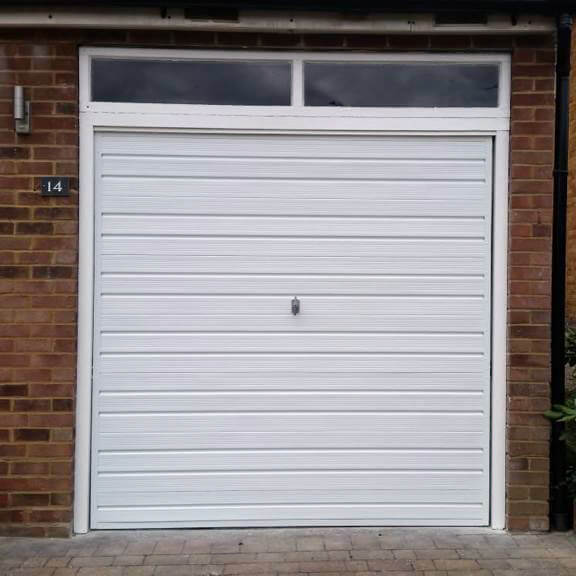 Garage Door Painting Moulsoe
